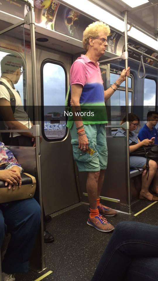 Beavis on the CTA